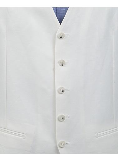 Damat Yelek Beyaz
